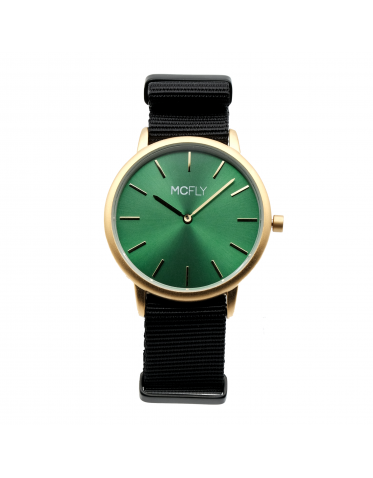 Palm Gold / Green Nato Black