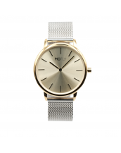 Montres MCFLY Palm Metal Mesh Silver Gold