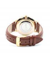 Montres MCFLY Palm White Gold Brown