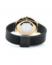 Montres MCFLY Palm Metal Mesh Black Gold