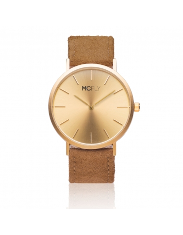 Dandy Gold Felt - MCFLY Watches