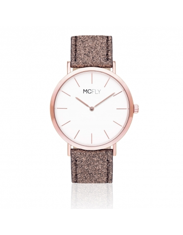 Dandy Glitter Brown MCFLY Watches