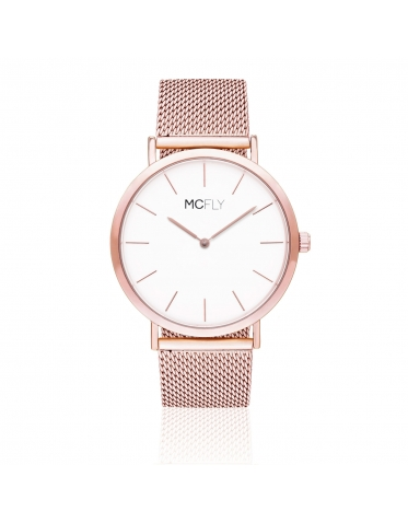 Dandy Metal Mesh Rose Gold
