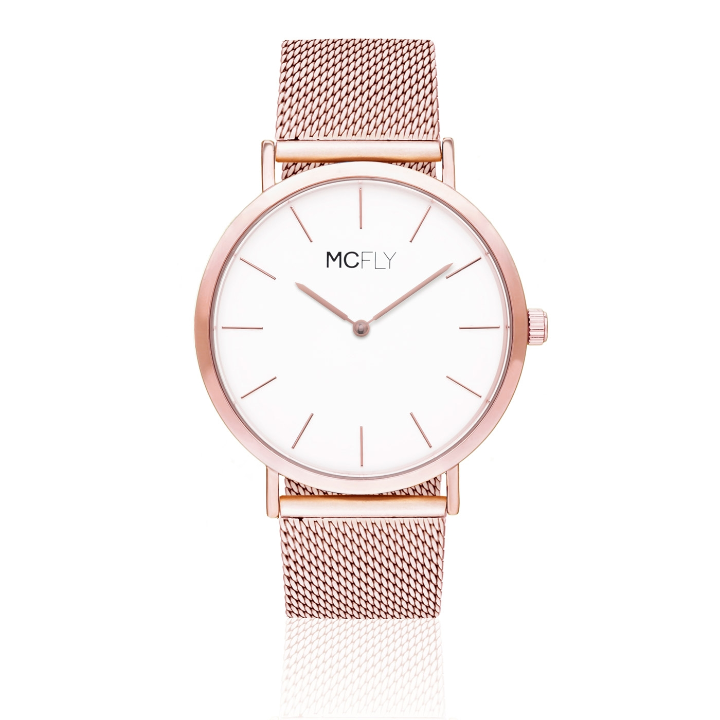 Dandy Metal Mesh Rose Gold MCFLY Watches