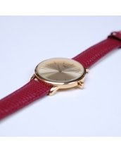 Montres MCFLY Palm Gold Red Lizard