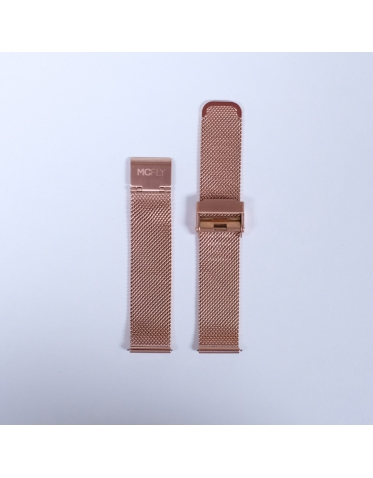 Bracelet Metal Mesh Rose Gold
