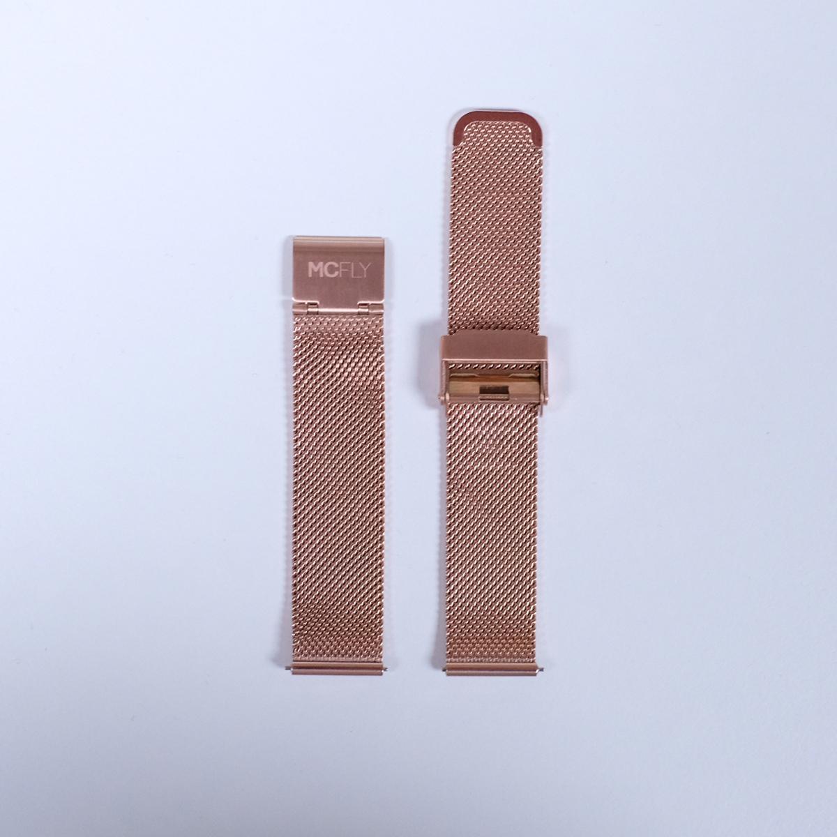 Bracelet Metal Mesh Rose Gold