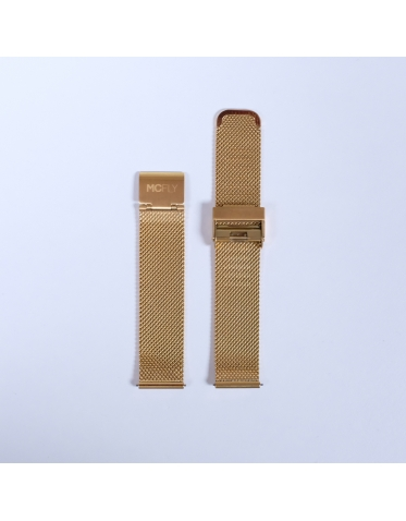 Bracelet Metal Mesh Gold