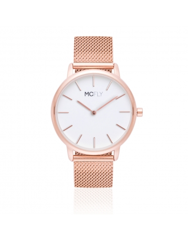 Palm Metal Mesh Rose Gold