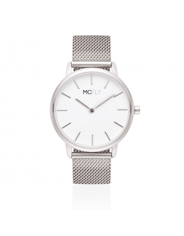 Montres MCFLY Palm Metal Mesh Silver