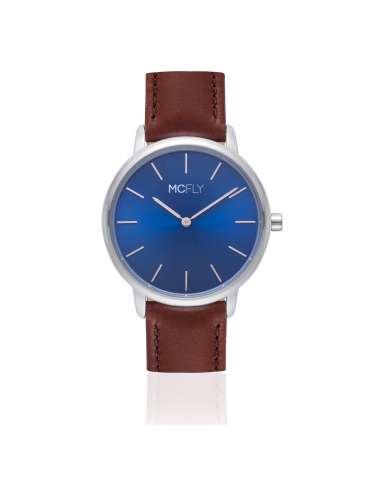 Montres MCFLY Palm Blue Brown