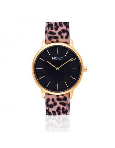Palm Gold Black Leopard