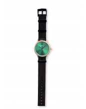 Palm Gold / Green Bracelet Neto Black