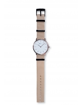Palm Rose Gold / White Bracelet Nato Beige