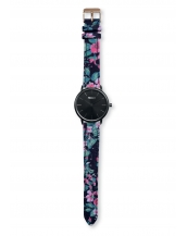Palm Full Black Bracelet Print Flower