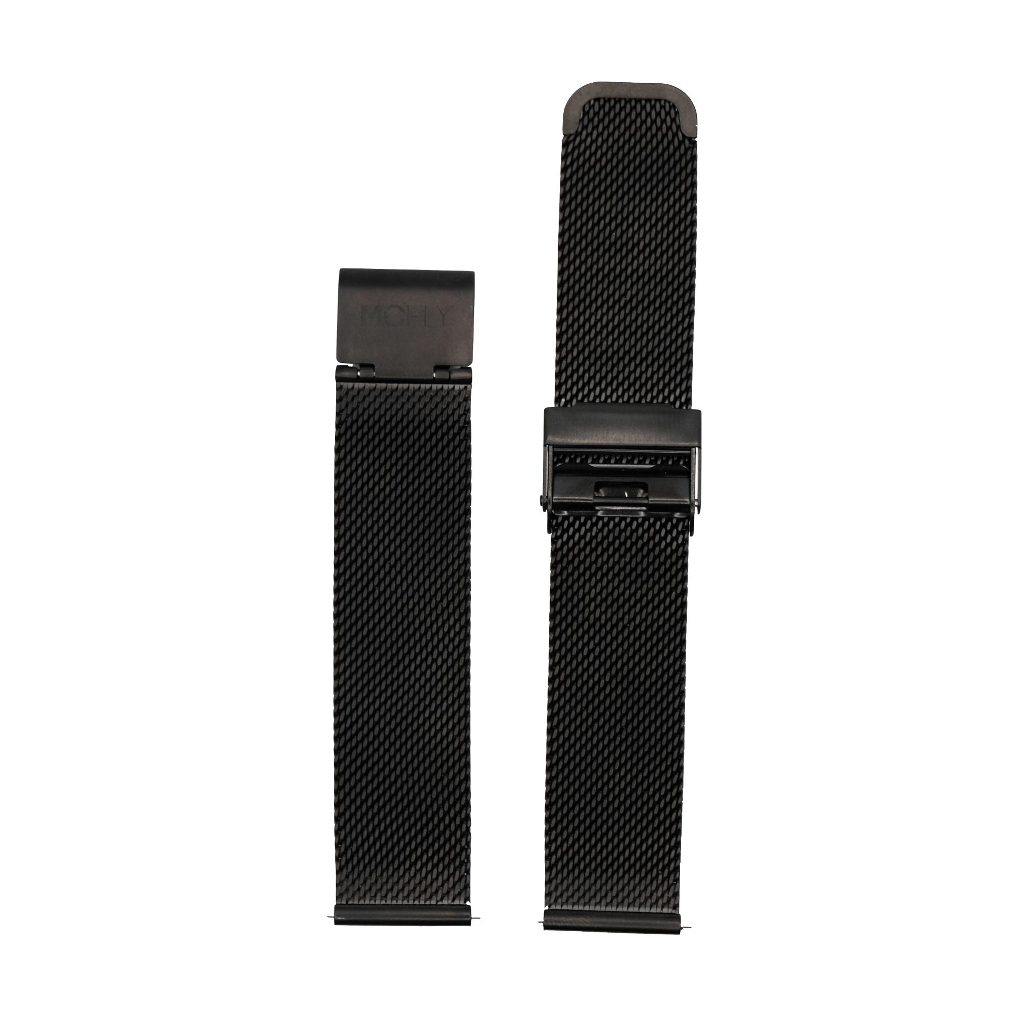 Bracelet Metal Mesh Black
