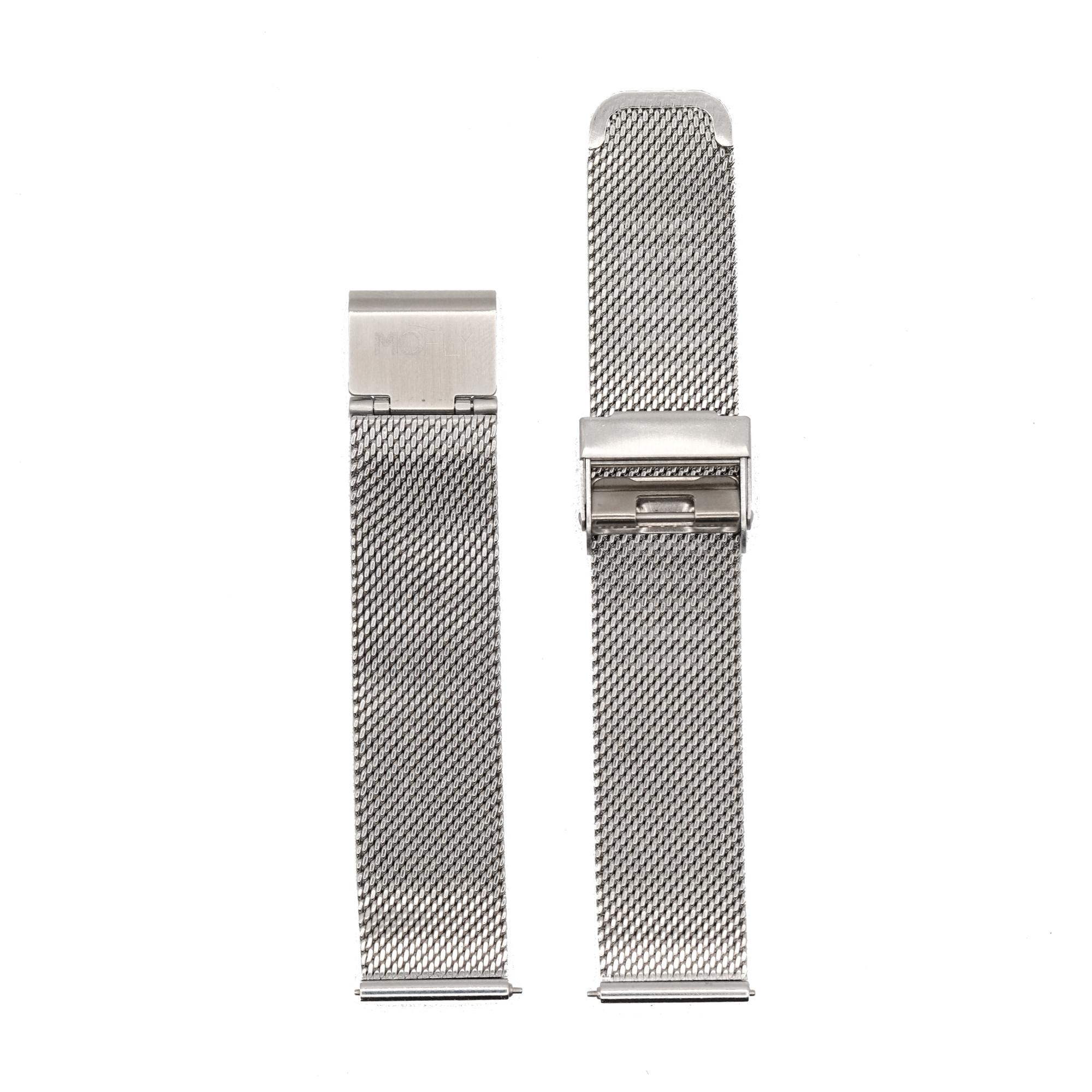Bracelet Metal Mesh Silver
